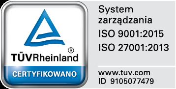 Certyfikat TUV - NZOZ Analco - całodobowa placówka medyczna w Świdniku
