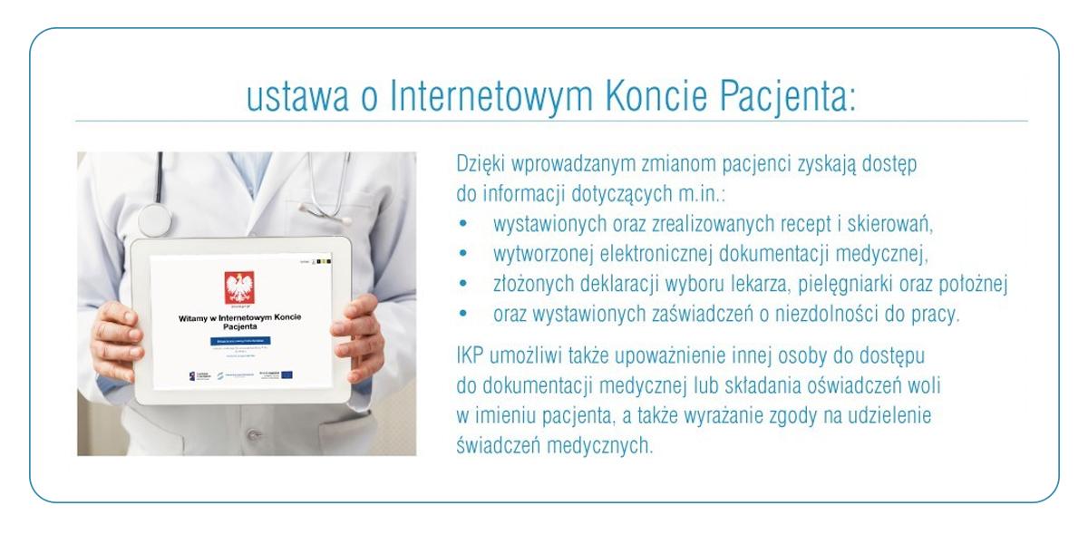 Internetowe Konto Pacjenta – szybki i łatwy dostęp do danych medycznych